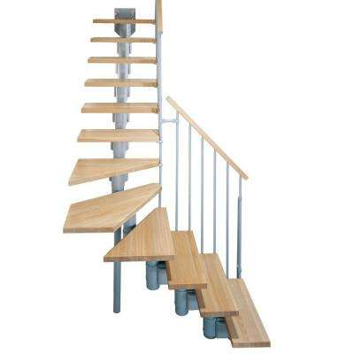 "Kompact 29 in. Grey Modular Staircase ""L"" Kit"