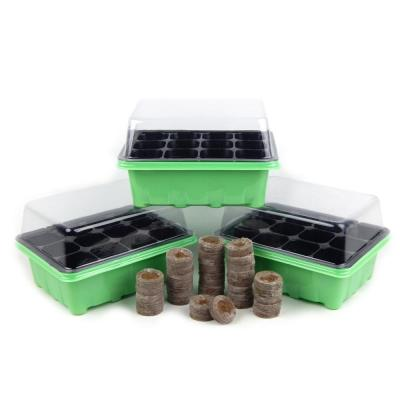 Germination Tray and Dome With Peat Pellets