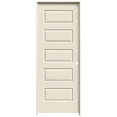 32 In. X 80 In. Rockport Primed Left Hand Smooth Molded Composite MDF