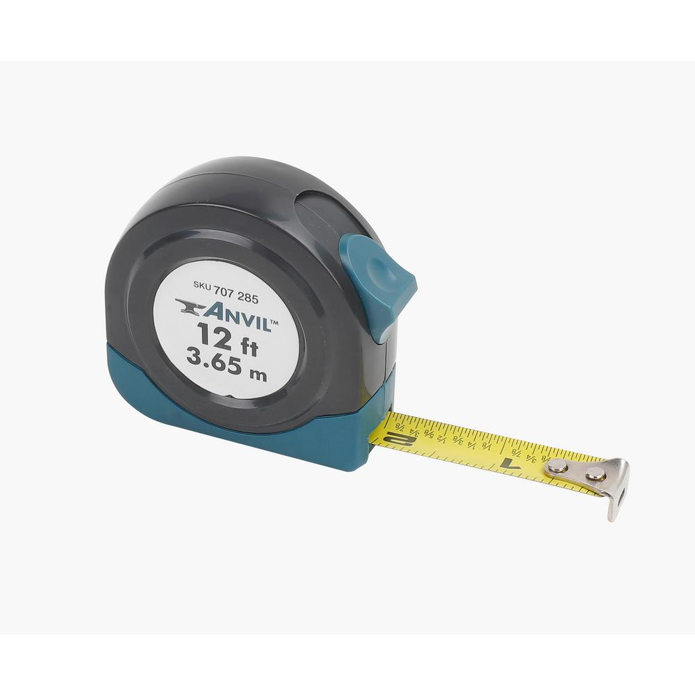 ANVIL 12 ft. Tape Measure