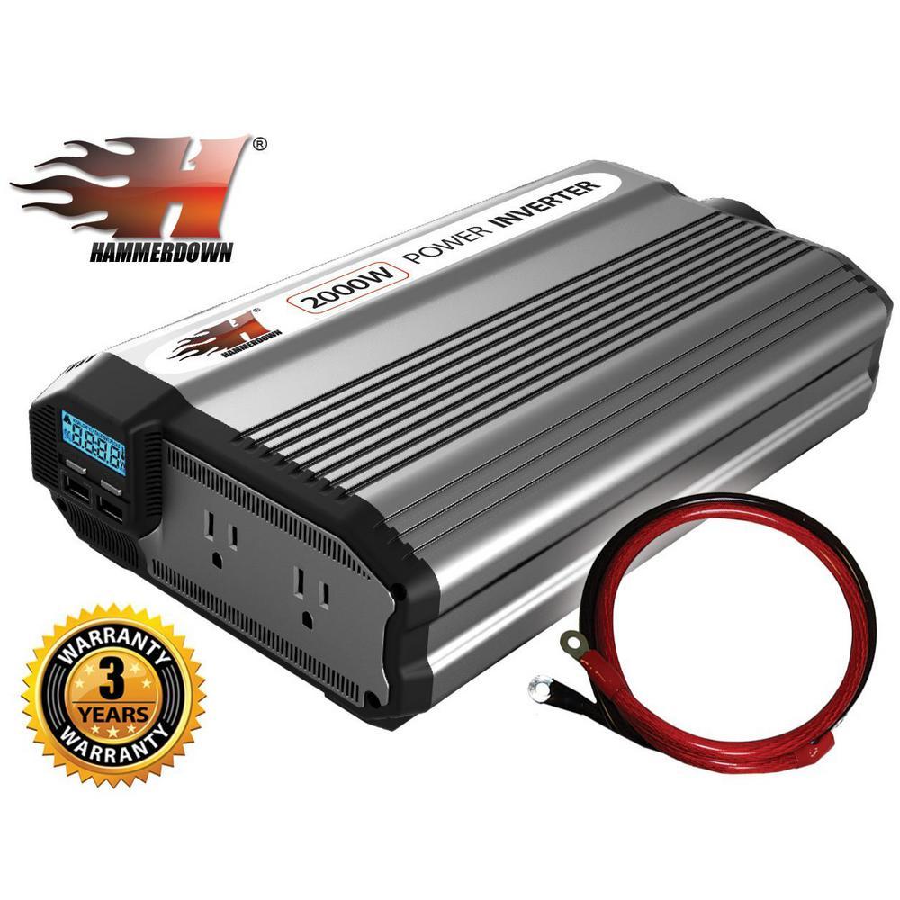 2000-Watt 12-Volt Power Inverter