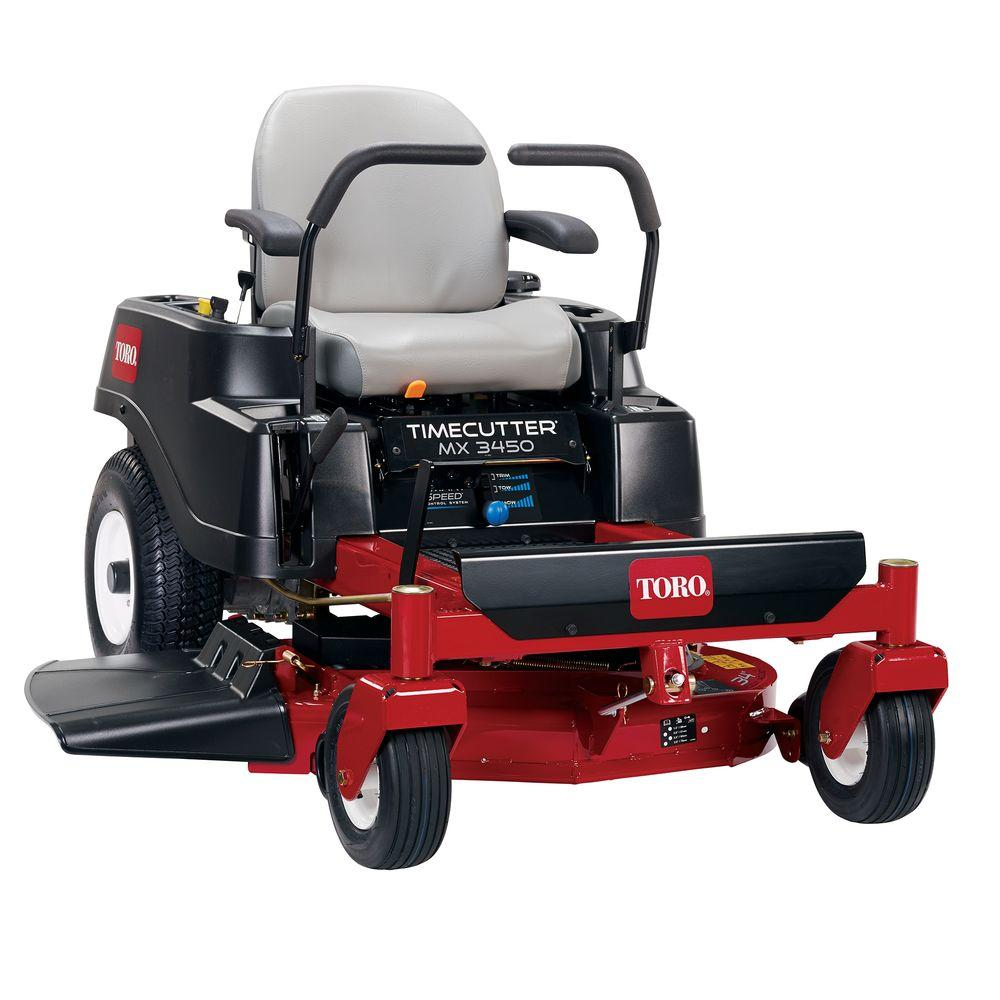 Toro TimeCutter MX3450 34 in. Fab 452cc Zero-Turn Riding Mower with Smart  Speed
