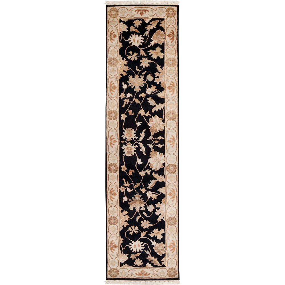 Artistic Weavers Sonargaon Brown 2 ft. 6 in. x 10 ft. Runner