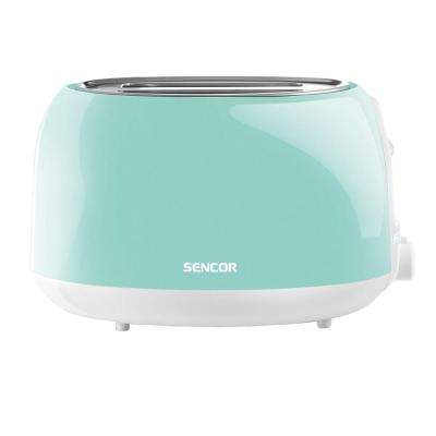 2-Slice Mint Green Toaster