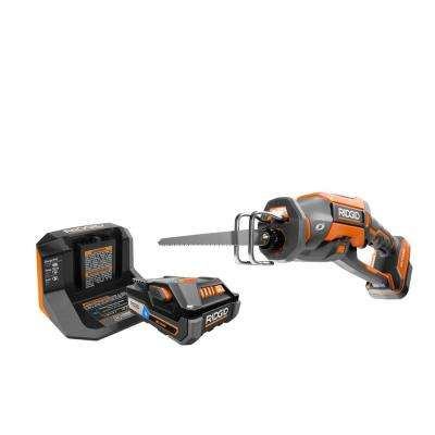 18-Volt OCTANE Cordless Brushless One-Handed Reciprocating Saw Kit with (1) OCTANE Bluetooth 3.0 Ah Battery and Charger