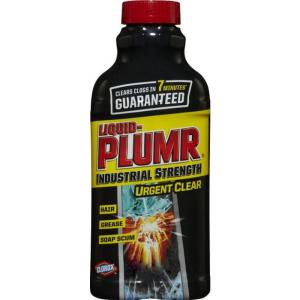 Liquid Plumr 42 Oz Industrial Strength Gel Drain Cleaner And Clog