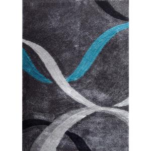 Quot Aria Collection Quot Soft Pile Hand Tufted Shag Area Rug In