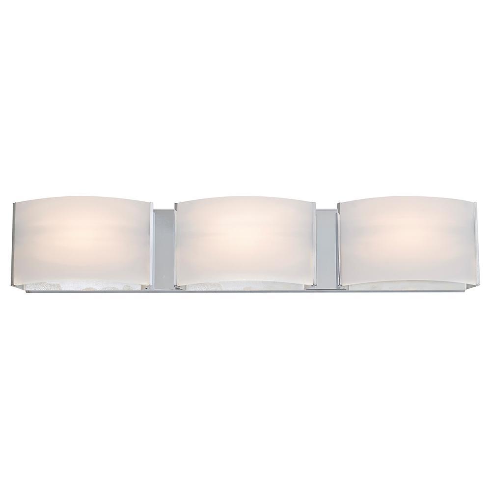 Filament Design Aleesia 3-Light Chrome Bath Light