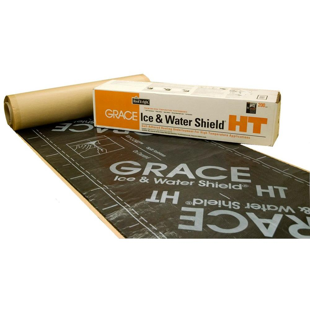 GCP Applied Technologies Grace Ice and Water Shield HT 36 in  x 75 ft  Roll  Roofing Underlayment (225 sq  ft )