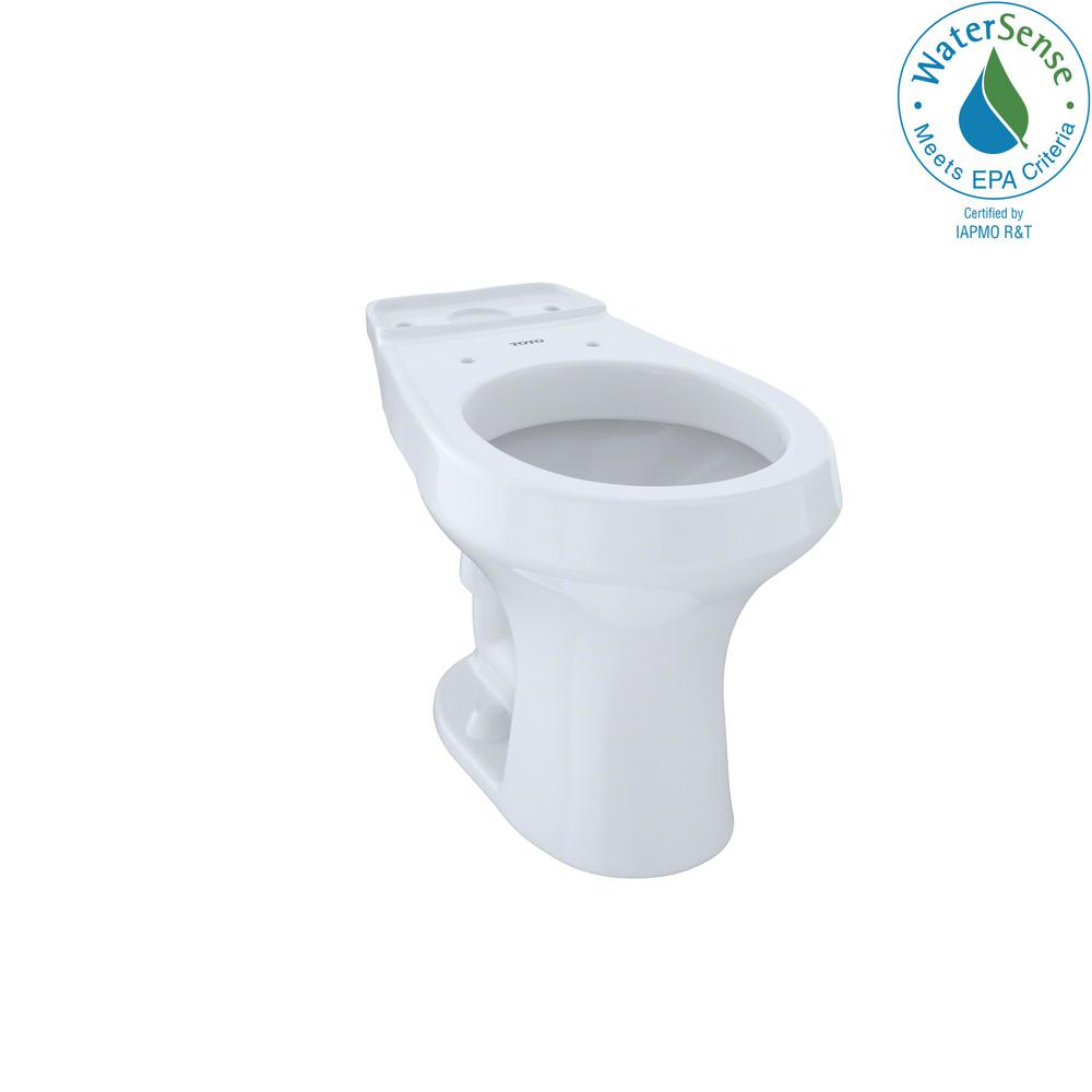 TOTO Rowan Round Toilet Bowl Only in Cotton White-C405F#01 - The ...