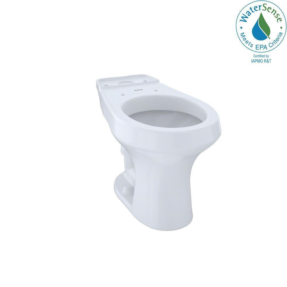 Rowan Round Toilet Bowl Only in Cotton White