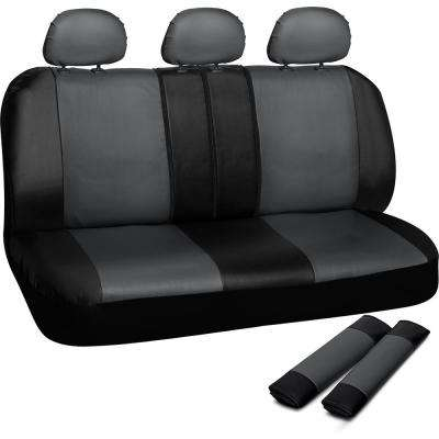 Polyurethane Bench Seat Cover in 21.5 in. L x  23 in. W x 31 in. H  Bench Seat Cover in Gray and Black