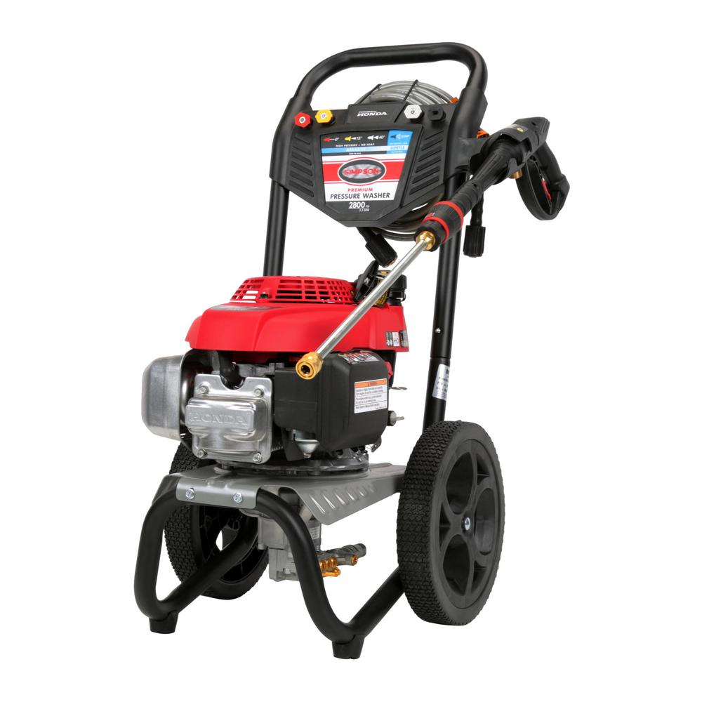 Simpson MS60773S 2800 PSI 23 GPM Gas Pressure Washer Powered by