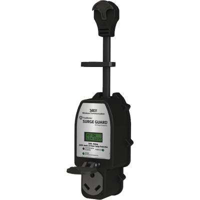 30 Amp Portable Surge Guard with Wireless Communication