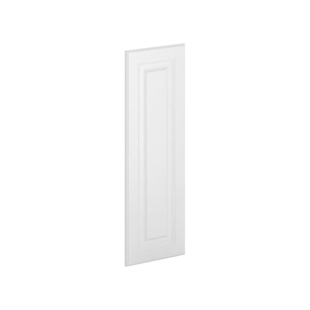 12x36x0.75 in. Madison Wall Deco End Panel in Warm White