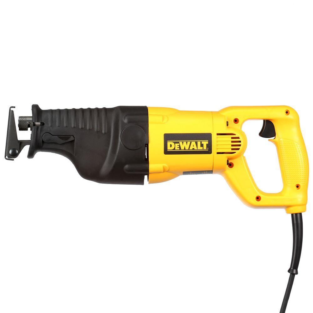 Dewalt corded no tool blade change reciprocating saws saws 12 amp reciprocating saw kit greentooth Gallery
