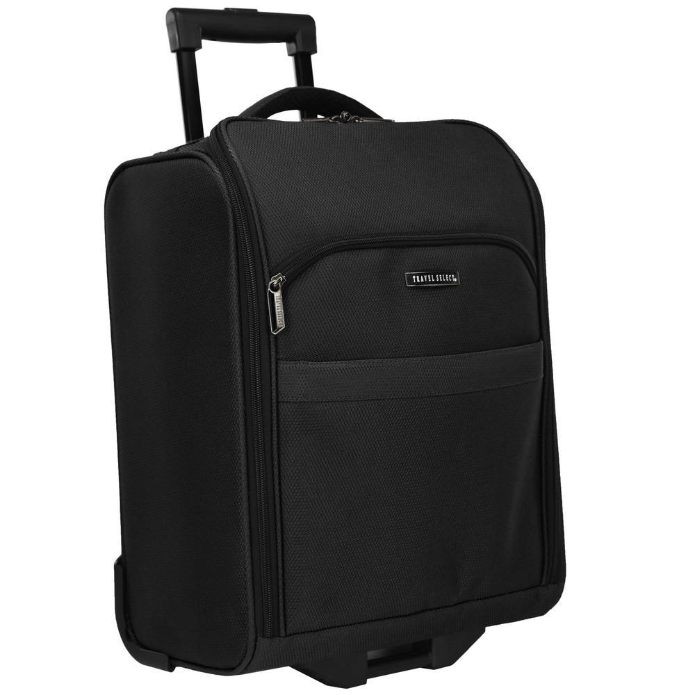 Rolling Underseat Black Luggage