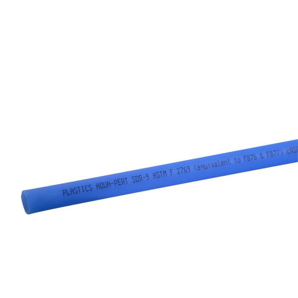 1/2 in. x 5 ft. Straight PERT Blue Pipe