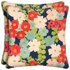 Francesa Floral Outdoor Throw Pillow (2-Pack)