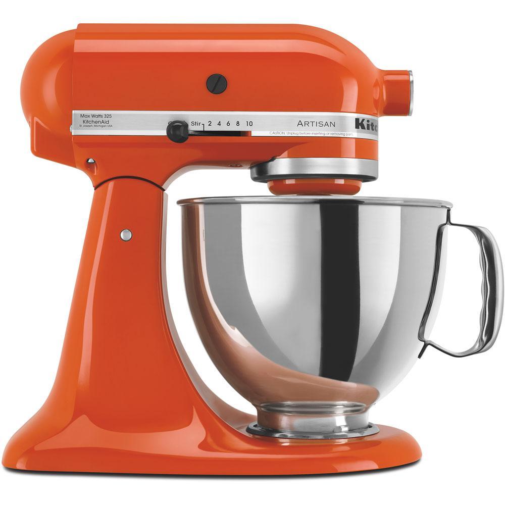 Lovely KitchenAid Artisan 5 Qt. Persimmon Stand Mixer