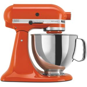 Click here to buy KitchenAid Artisan 5 Qt. Persimmon Stand Mixer by KitchenAid.