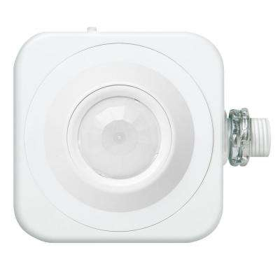Standard Range 360 Detection Rage PIR Line Voltage High Bay Aisle-Way Fixture Mount Motion Sensor