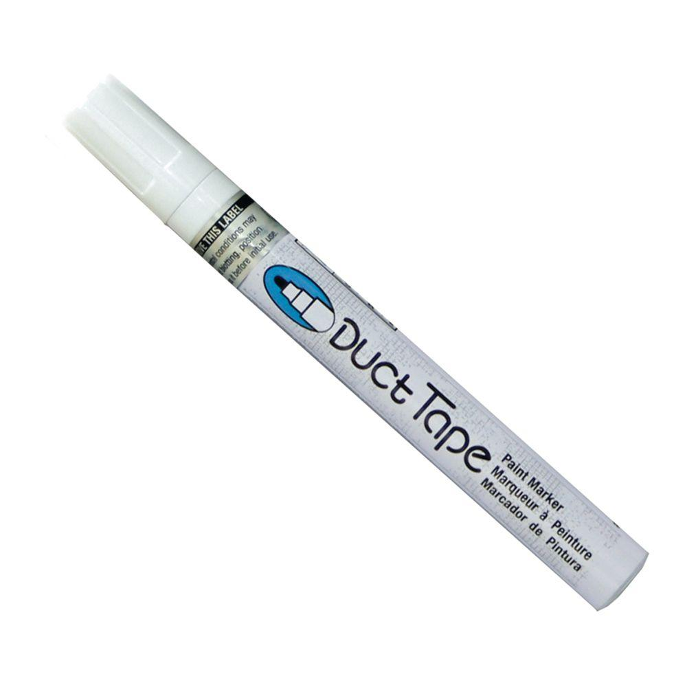 Marvy Uchida White Broad Point Duct Tape Paint Marker