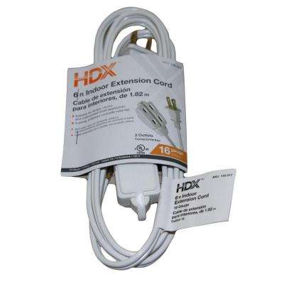 6 ft. 16/2 Cube Tap Extension Cord
