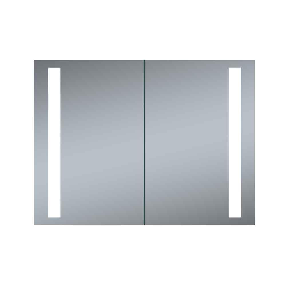 Merveilleux Innoci Usa Double Door Melania 40 In. X 26 In. LED Recessed Medicine