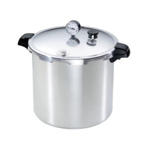 Click here to buy Presto 23 Qt. Aluminum Pressure Cooker by Presto.