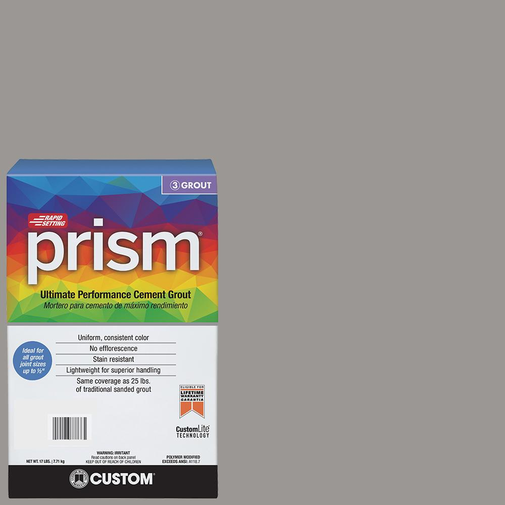 Prism #165 Delorean Gray 17 lb. Grout