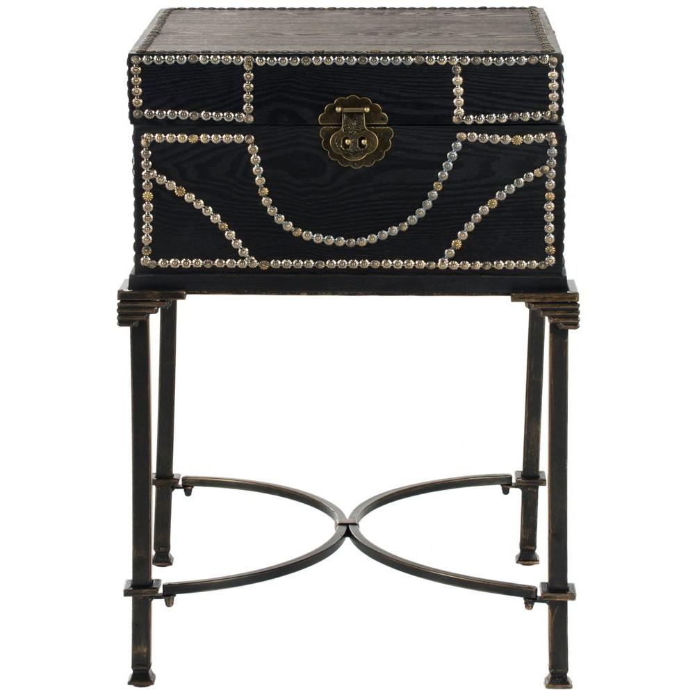 Anthony Dark Brown End Table