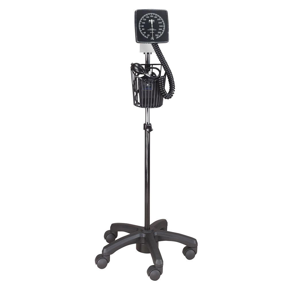 Combination Mobile and Wall-Mounted Aneroid in Black