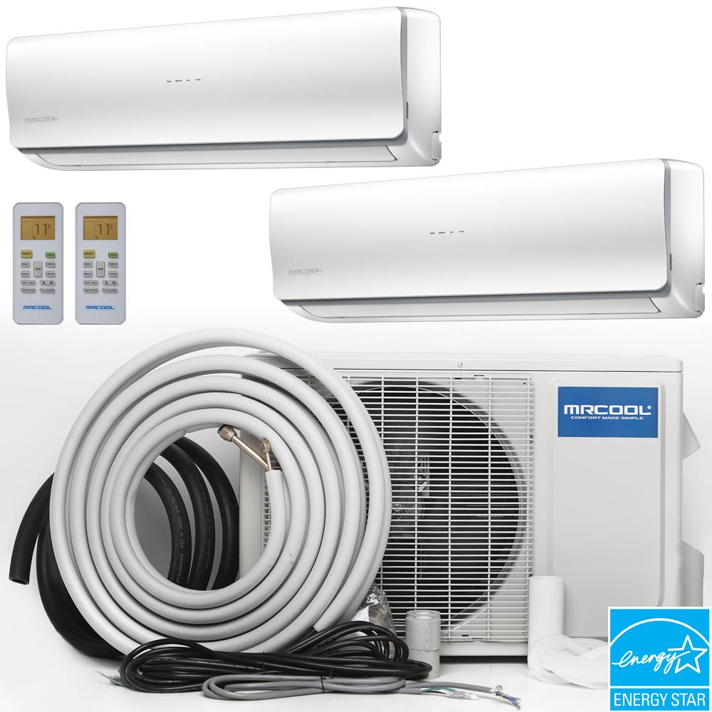 MRCOOL Olympus 48,000 BTU 4 Ton Ductless Mini-Split Air Conditioner and  Heat Pump, 16 ft  Install Kit - 230-Volt/60Hz