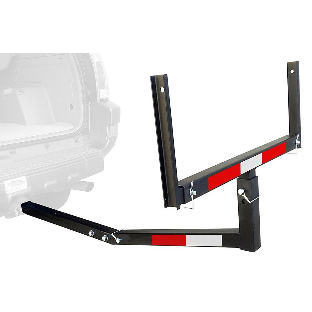 MaxxHaul Hitch Mount Truck Bed Extender for Ladder, Rack, Canoe, Kayak, Long Pipes and Lumber
