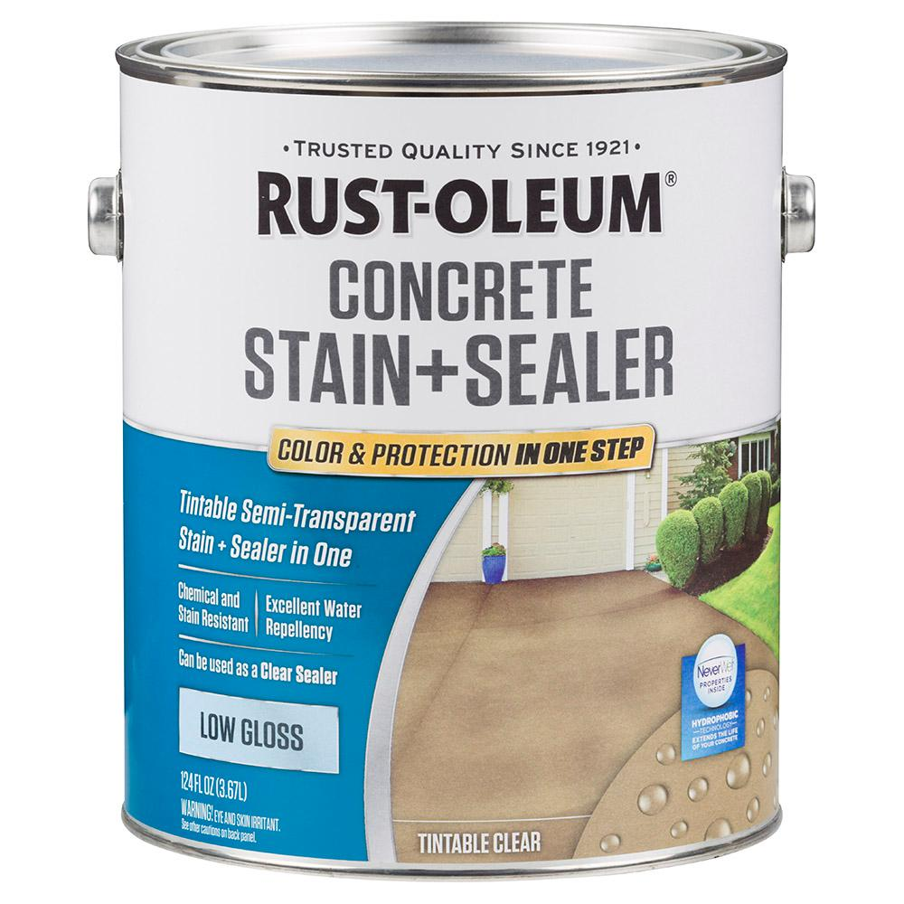 1 -gal. Clear Low Gloss Concrete Water Repellent Sealer Tintable