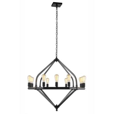 Illumina 12-Light Bronze Pendant Lamp