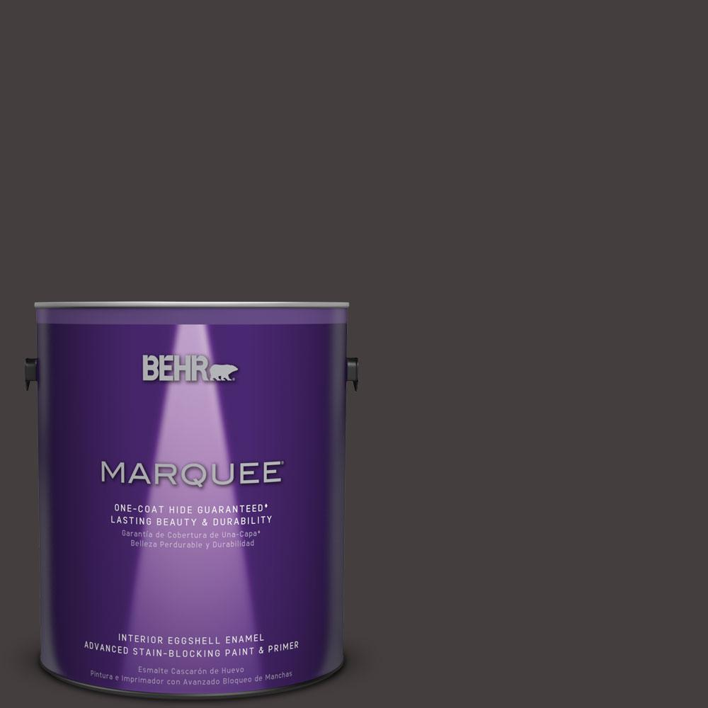 1 gal. #MQ1-35 Off Broadway One-Coat Hide Eggshell Enamel Interior Paint