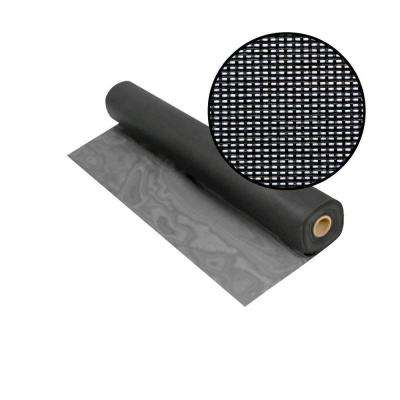 48 in. x 100 ft. Charcoal Solar Insect Screen