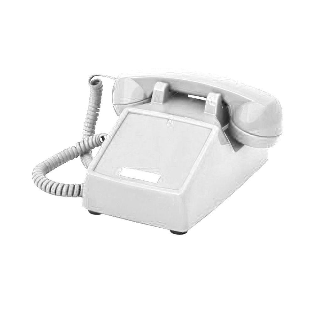 Desk No Dial Corded Telephone - Ash