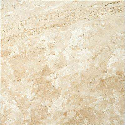 Marble Daino Reale Polished 12.01 in. x 12.01 in. Marble Floor and Wall Tile
