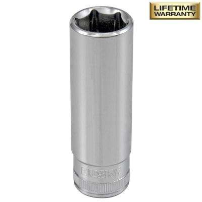 3/8 in. Drive 15 mm 6-Point Metric Deep Socket