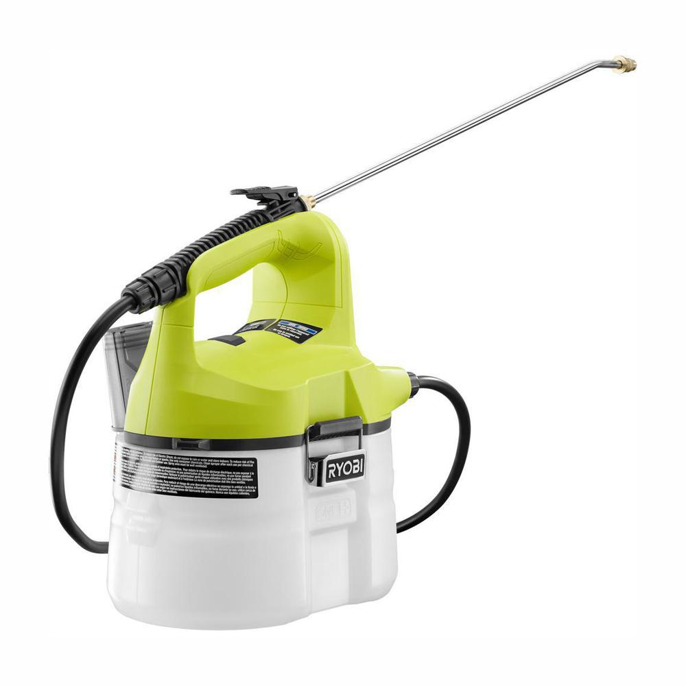 RYOBI ONE+ 18-Volt Lithium-Ion Cordless Chemical Sprayer 1-Gal. - Battery and Charger Not Included