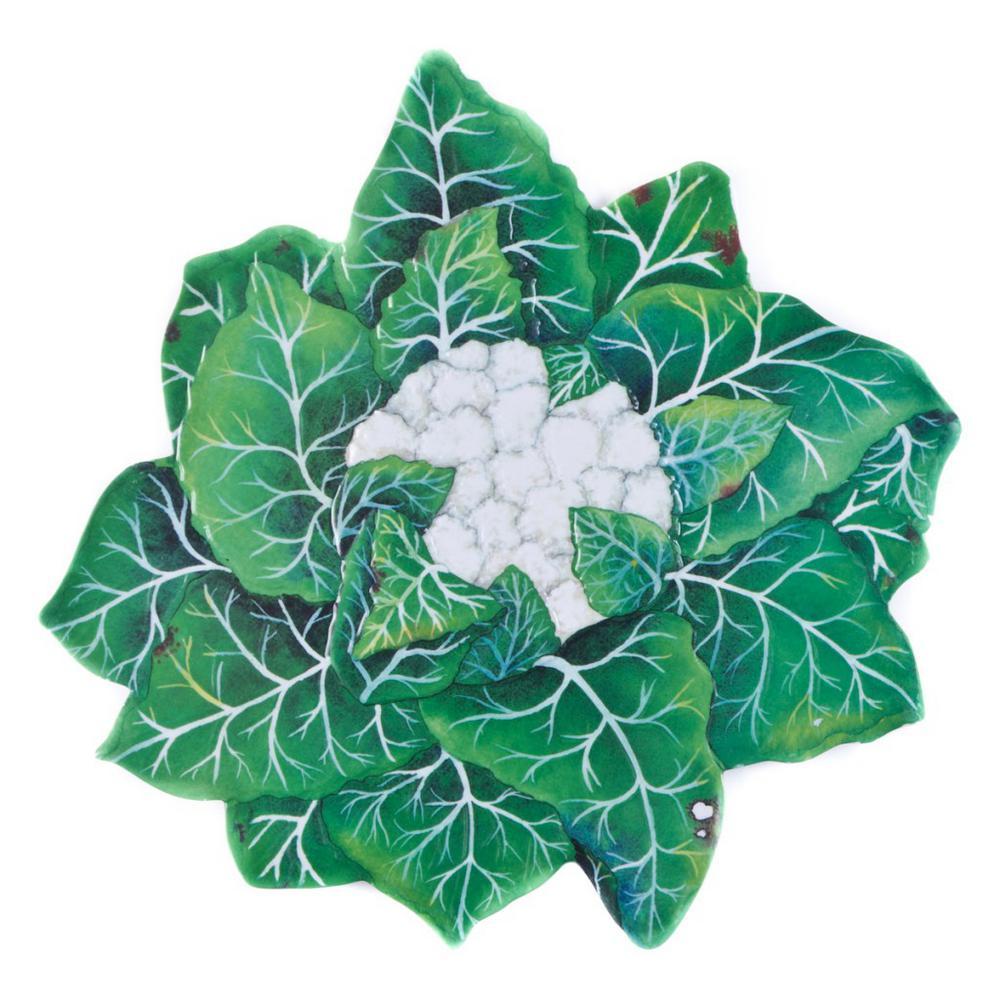 Verdura Green Melamine Cauliflower Tray