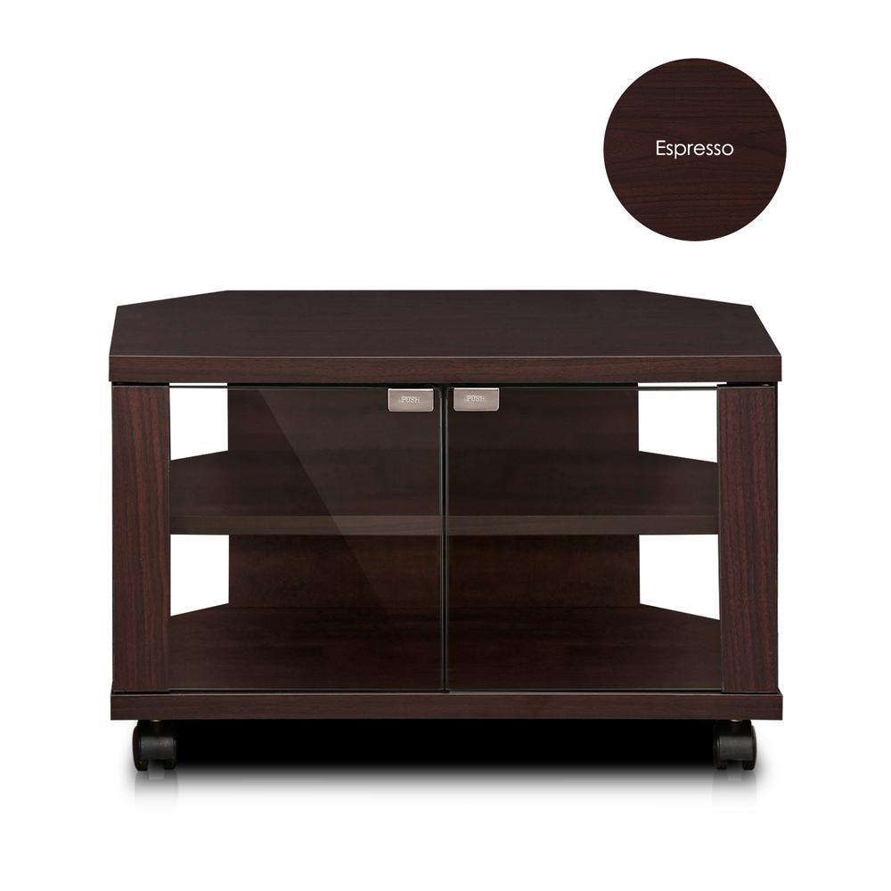 Furinno Indo Espresso Petite TV Stand FL-600EX