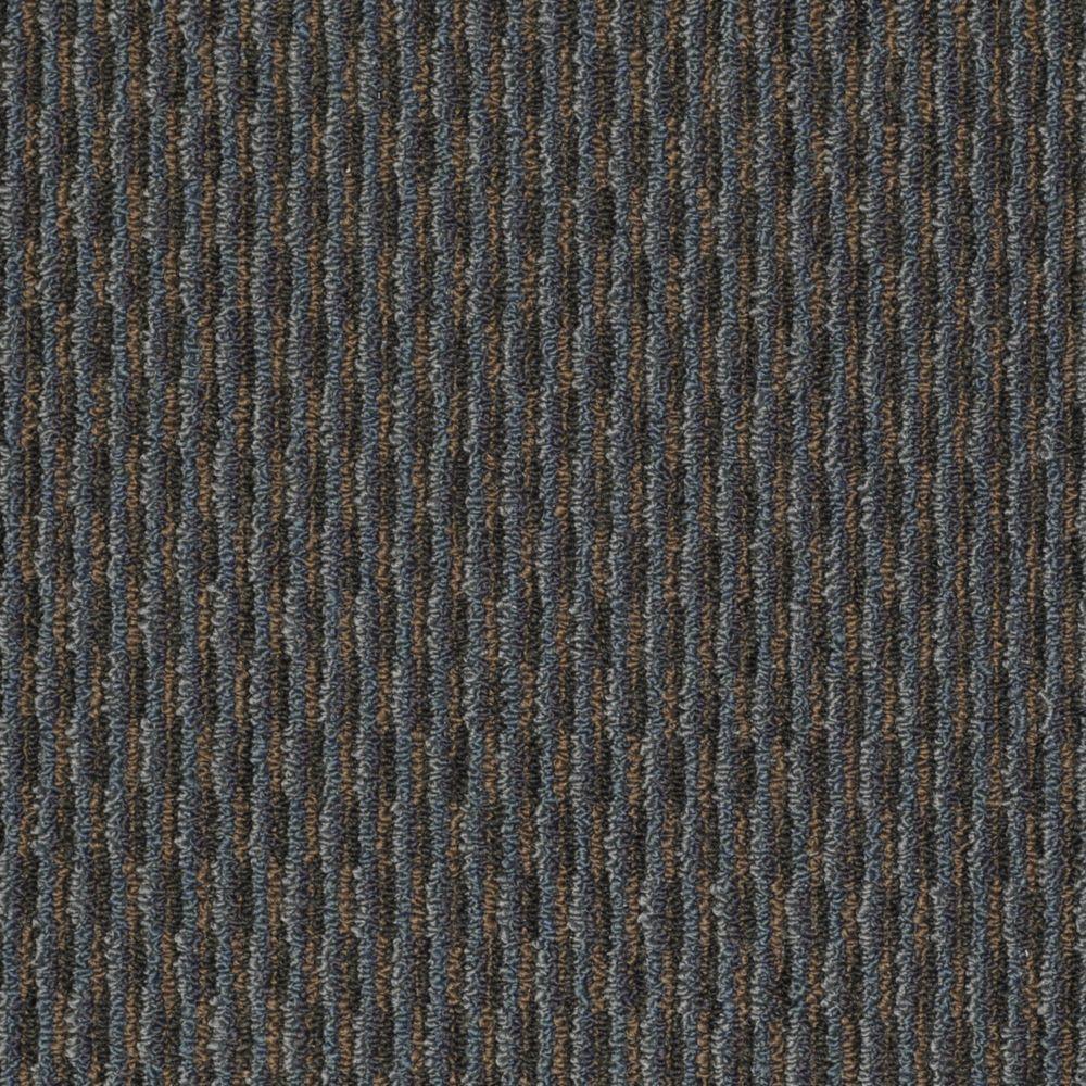 TrafficMASTER Morro Bay - Color Autumn Blue 12 ft. Carpet
