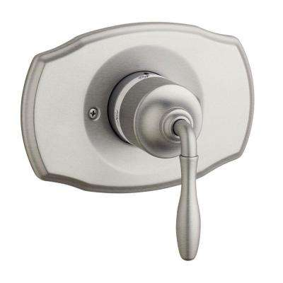 Seabury Single Handle Pressure Balance Valve Trim Kit in Brushed Nickel (Valve Sold Separately)