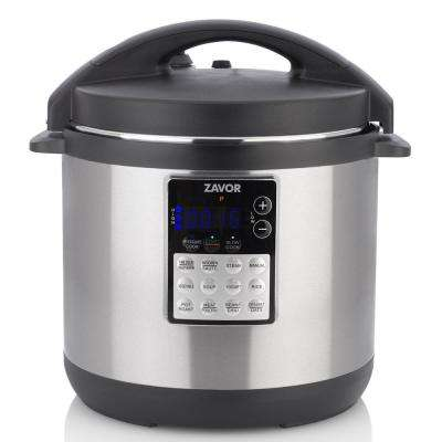 LUX EDGE 6 Qt. in Stainless Steel Pressure Cooker