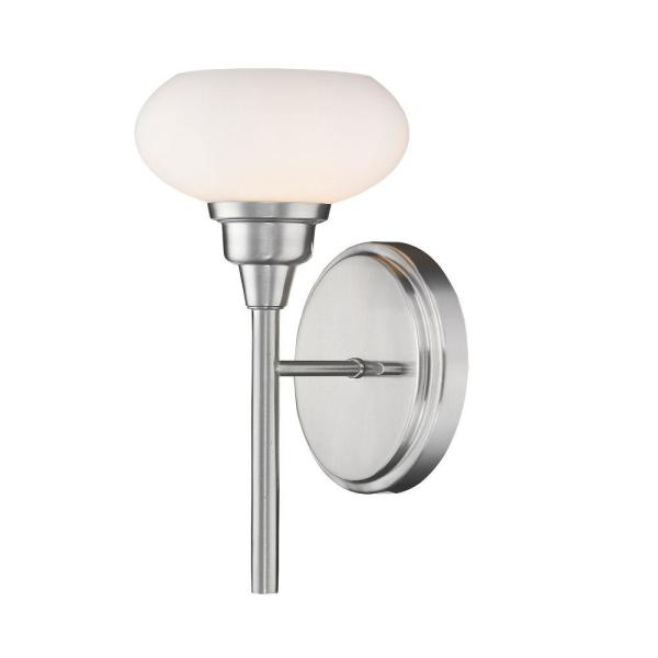 5 in. Brushed Nickel Sconce