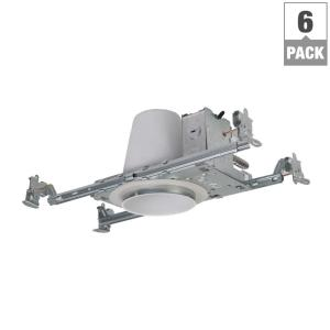 Halo H99 4 inch Steel Recessed Lighting Housing for New Construction Ceiling, No Insulation Contact, Air-Tite... by Halo